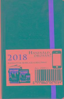 - - HAMU ÉS GYÉMÁNT MAGAZIN OKOS NOTESZ 2018 OKOS ZSEBNAPTÁR 2018