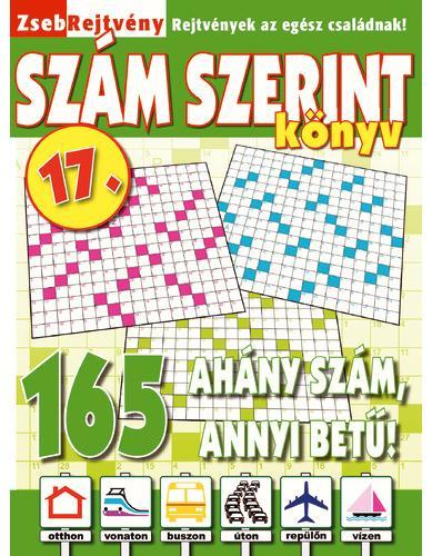ZSEBREJTVÉNY SZÁM SZERINT KÖNYV 17.