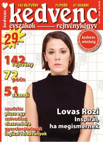 KEDVENC ÉVSZAKOK REJTVÉNYKÖNYV 29.