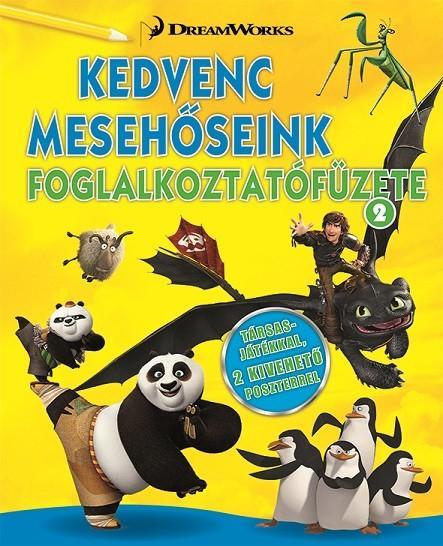 KEDVENC MESEHŐSEINK FOGLALKOZTATÓFÜZETE 2.