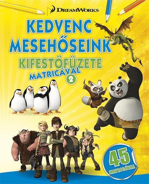 KEDVENC MESEHŐSEINK KIFESTŐFÜZETE MATRICÁVAL 2.