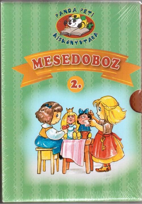 - - PANDA PETI KISKÖNYVTÁRA - MESEDOBOZ 2