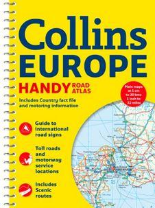 - - COLLINS EUROPE 2018 - HANDY ROAD ATLAS