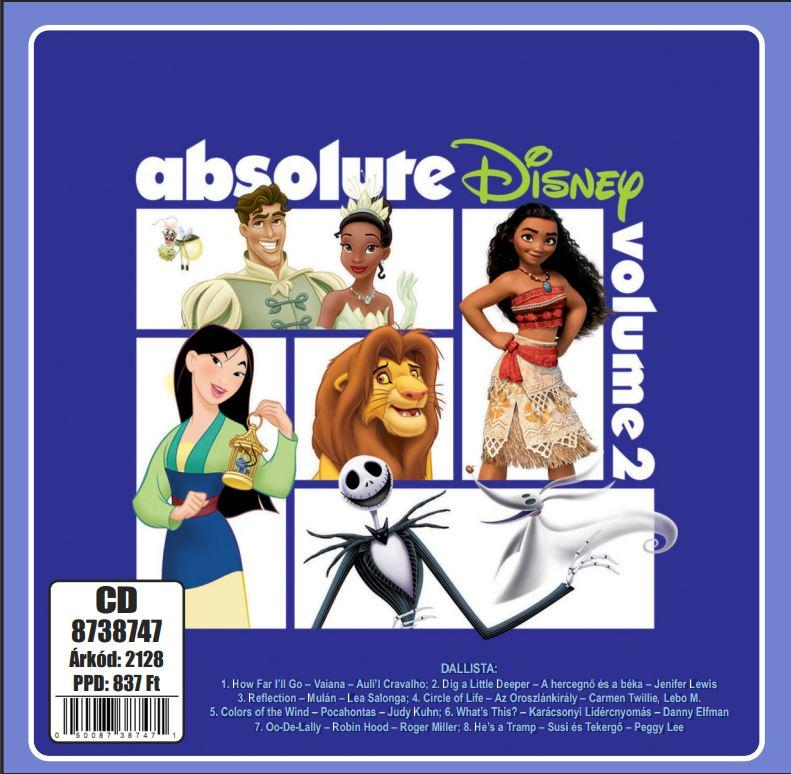 - ABSOLUTE DISNEY - VOLUME 2. - CD -