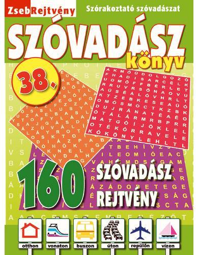 ZSEBREJTVÉNY SZÓVADÁSZ KÖNYV 38.
