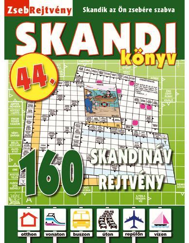 ZSEBREJTVÉNY SKANDI KÖNYV 44.