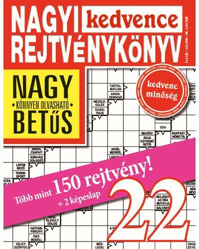 NAGYI KEDVENCE REJTVÉNYKÖNYV 22.