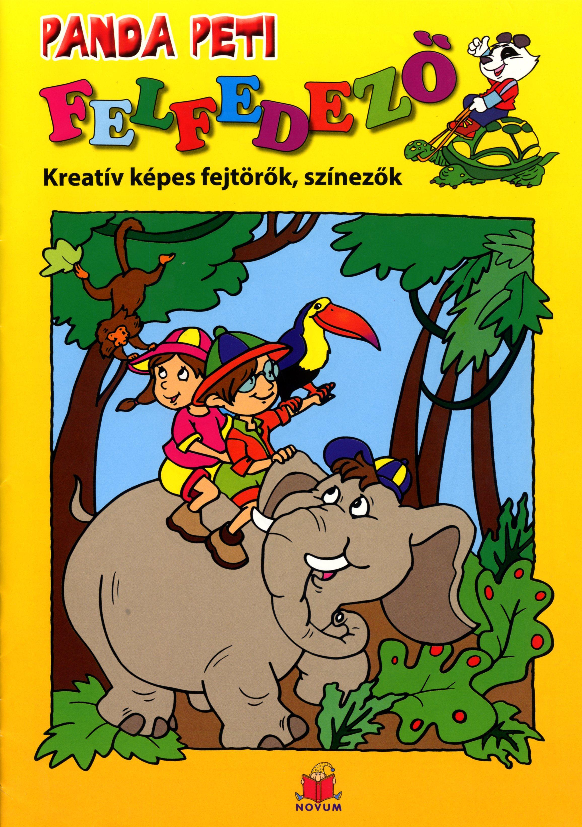 BOZSIK ROZÁLIA LUCA - PANDA PETI FELFEDEZŐ