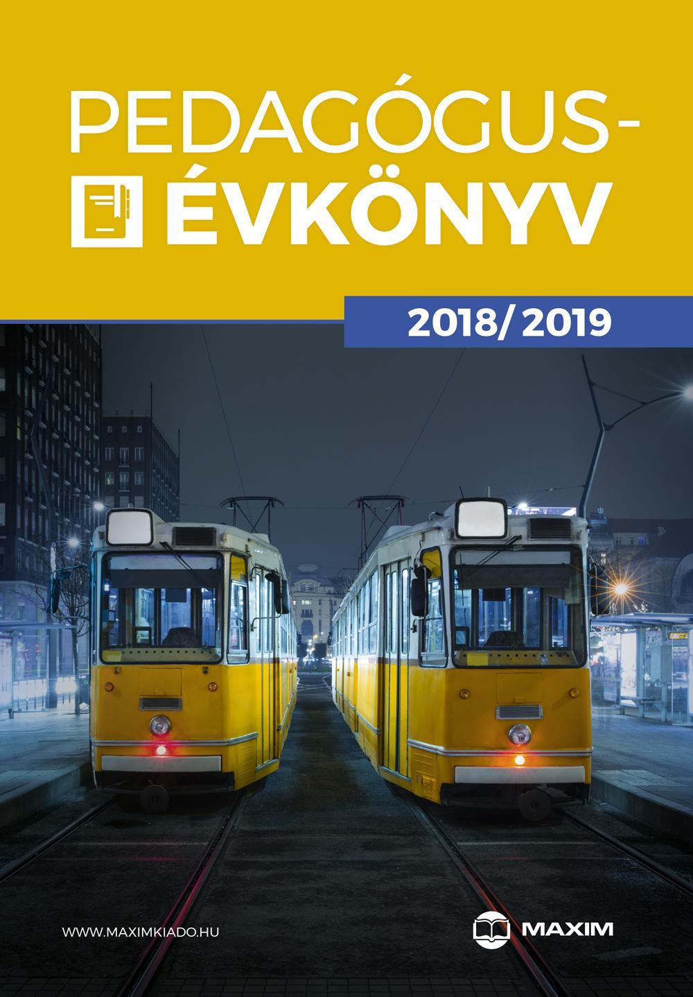 PEDAGÓGUS-ÉVKÖNYV 2018/2019