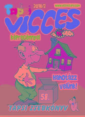 VICCES TAPSI - 2018/2.
