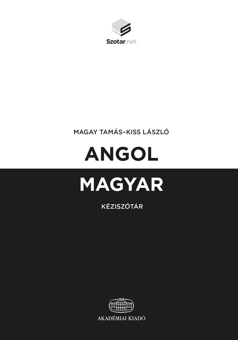 ANGOL-MAGYAR KÉZISZÓTÁR + ONLINE SZÓTÁRCSOMAG