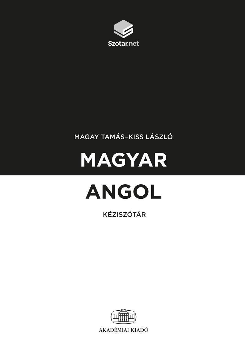 MAGYAR-ANGOL KÉZISZÓTÁR + ONLINE SZÓTÁRCSOMAG