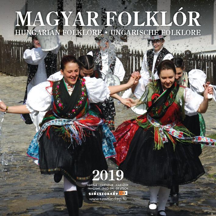 MAGYAR FOLKLÓR - NAPTÁR 2019 (22X22 CM)