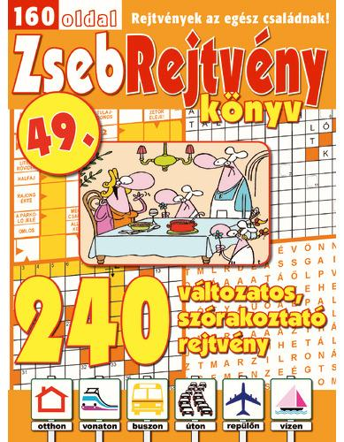 ZSEBREJTVÉNY KÖNYV 49.