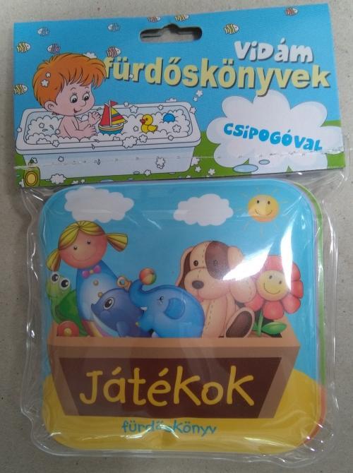 JÁTÉKOK - VIDÁM FÜRDÕSKÖNYVEK CSIPOGÓVAL