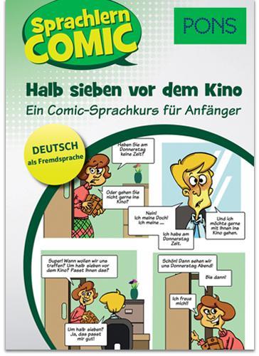 SPRACHLERN COMIC - HALB SIEBEN VOR DEM KINO (PONS)