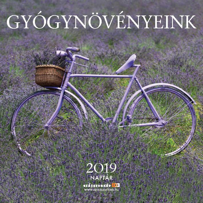 GYÓGYNÖVÉNYEINK NAPTÁR 2019 (22X22 CM)