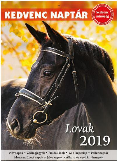 KEDVENC NAPTÁR 2019 – LOVAK