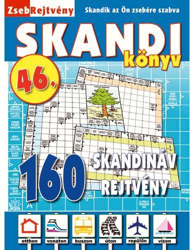 ZSEBREJTVÉNY SKANDI KÖNYV 46.