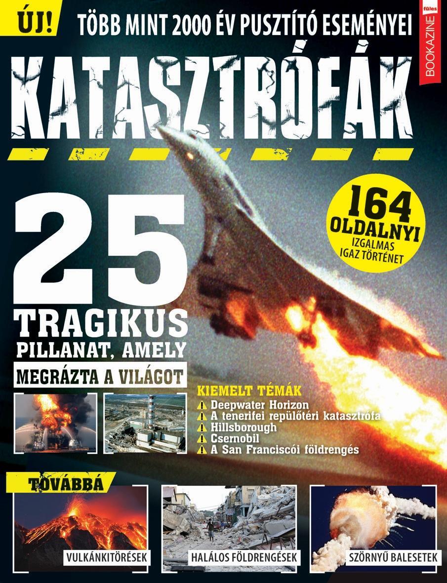 KATASZTRÓFÁK - FÜLES BOOKAZINE