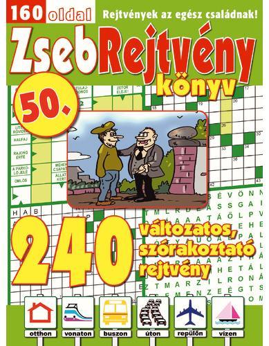 ZSEBREJTVÉNY KÖNYV 50.