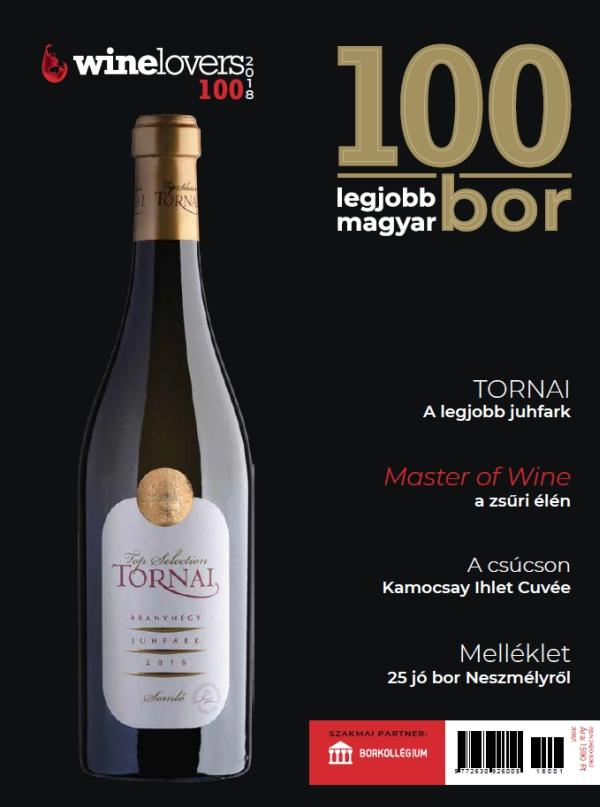 100 LEGJOBB MAGYAR BOR - WINELOVERS 100 2018/1.
