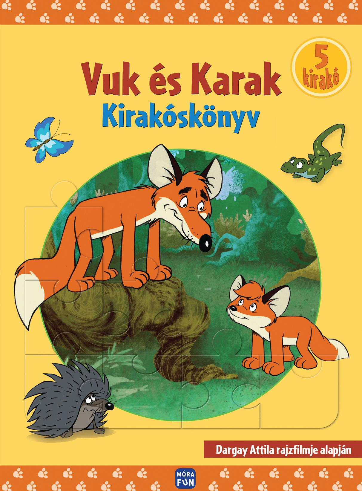 VUK ÉS KARAK - KIRAKÓSKÖNYV - 5 KIRAKÓ -