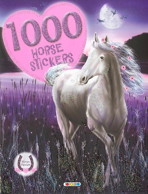 1000 HORSE STICKERS 2. - HOLDFÉNY