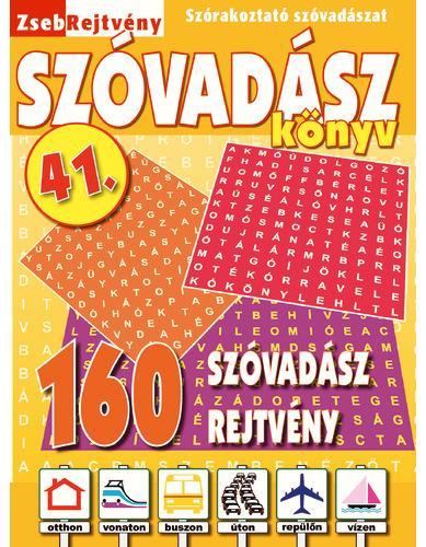 ZSEBREJTVÉNY SZÓVADÁSZ KÖNYV 41.