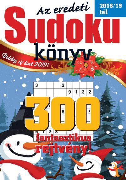 SUDOKU KÖNYV 2018/19 TÉL