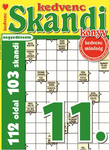 KEDVENC SKANDI KÖNYV 11.