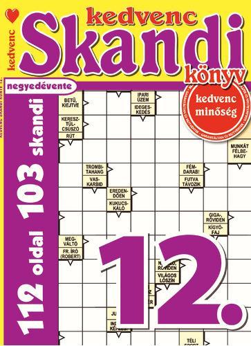KEDVENC SKANDI KÖNYV 12.