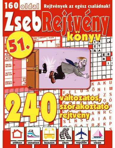 ZSEBREJTVÉNY KÖNYV 51.