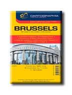 """BRÜSSZEL TÉRKÉP - CART. - """"SC"""""""