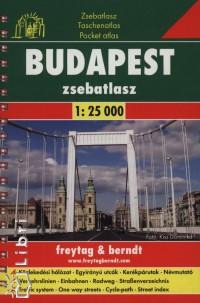 BUDAPEST ZSEBATLASZ - FREYTAG