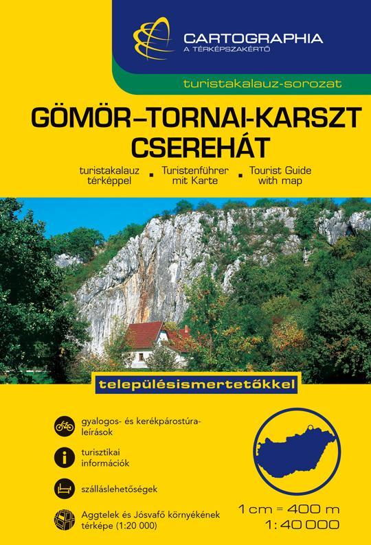 "GÖMÖR-TORNAI-KARSZT CSEREHÁT TURISTAKALAUZ ""SC"""