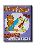 GARFIELD - SZUPER KIFESTÕ FÜZET -