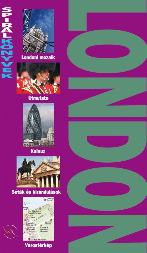 LONDON - SPIRÁL KÖNYVEK -
