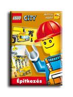 ÉPITKEZÉS - LEGO CITY - MATRICÁS OLDALLAL! -