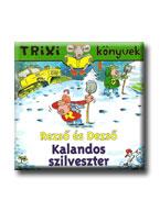 TRIXI KÖNYVEK - REZSÕ ÉS DEZSÕ - KALANDOS SZILVESZTER